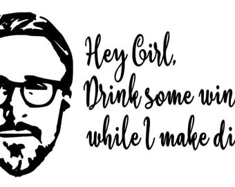 Hey Girl Instant Pot Decal / Instant Pot Decal / Crock Pot Decal