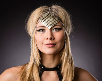 Scalemaille Head Dress