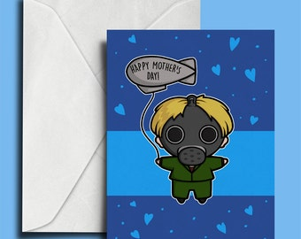 Mother's Day Card - Are You My Mummy - Empty Child Mother's Day Card - Geek Mother's Day Card - Cute Geek Card - Doctor Who Greeting Card