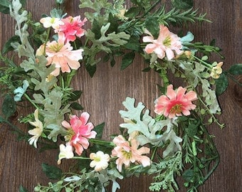 Sweet Little Spring Floral Wreath