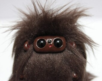 Chocolate Sasquatch Plushie/Art Doll