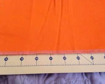 Bright Orange Twill