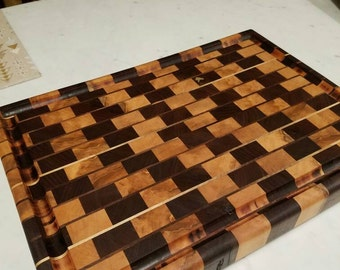 "15x20 End grain cutting board (2"" Thick)"