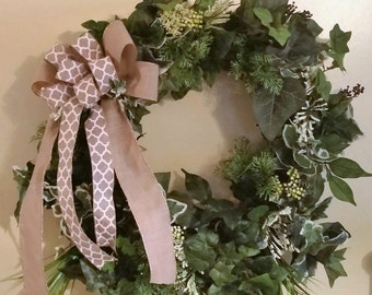 Ivy Wreath, Foliage Wreath, Ivy Everyday Wreath, Ivy Grapevine Wreath, Ivy Front Door Wreath, Ivy Year Round Wreath, Sun Room Wreath,