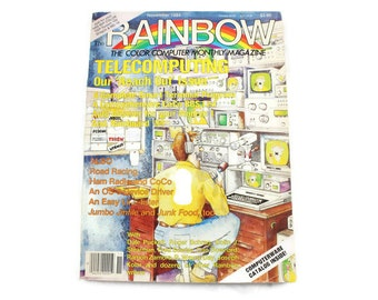 1984 The Rainbow Tandy TRS-80 Computer Magazine (November 1984 Issue)