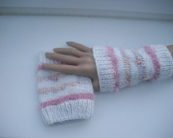 Wrist warmers - warmers - hand gloves - gloves - hand made