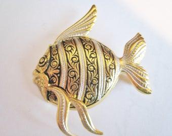 Vintage Spain Fish Pin