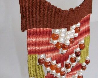 Kafe navajo kilimaki- woven jewelry