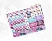Dreaming Notes Page Kit - Matte Glossy Erin Condren Planner Stickers -