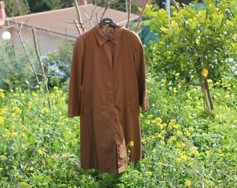 Vintage vintage vintage trench coat waterproof////