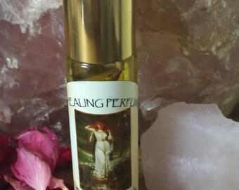 Freyja Oil 1/3 oz goddess oil, viking, pagan, new age, metaphysical anointing oil, freyja
