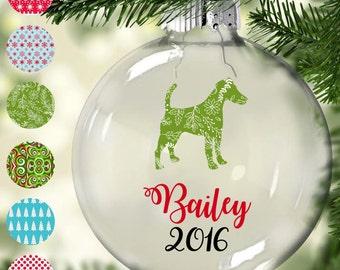 Smooth Fox Terrier Christmas Tree Ornament