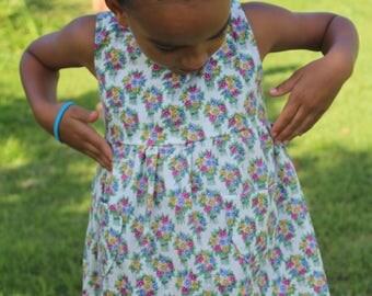 spring flower easter dress girls