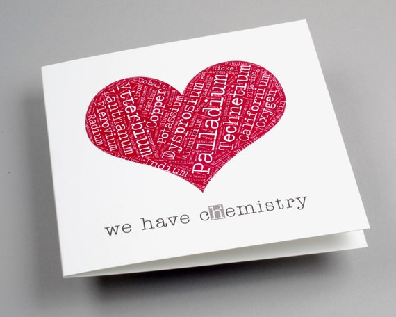We Have Chemistry Valentine's Day Card