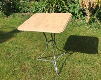 Vintage French Bistro Cafe Table