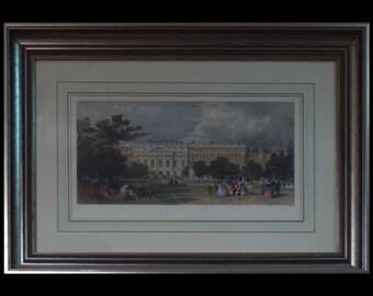 Hampton Court Palace by Thomas Allom 1830