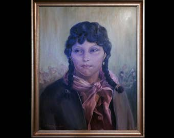 Ivy Tabo by Elizabeth Lochrie oil painting - 1947