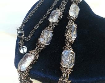 gold necklace, goldtone necklace, adjustable necklace, Talbots, jewelry