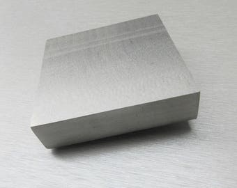 "1"" Thick Steel Block 3""x3"" Bench Block Anvil Jewelry Metal Working Stamping A-1 (1.13 FRE)"
