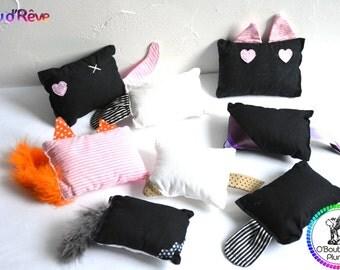 """Doudou """"Eau d'Rêve"""" for cat and kitten - Optional - Cat grass, catnip"""