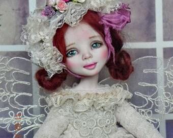 SALE!!!Souvenir interior doll Isabel Handmade doll OOAK doll Art doll Collectible doll Interior doll Dressed doll Cloth doll
