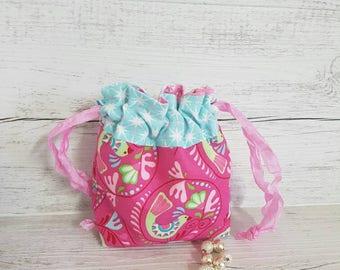 Gift bag, Resuable Gift bag, Small gift bag, Jewellery pouch, Jewellery storage, Small storage bag