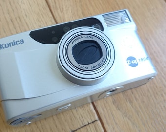 compact Konica Z-up 150e - 38-150mm lens film camera