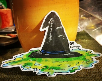 Melted Wicked Witch Sticker
