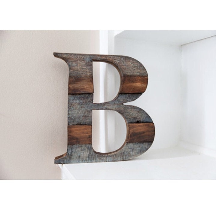 Rustic bathroom decor wall letters bath by curtisandfoster for Bathroom wall letters
