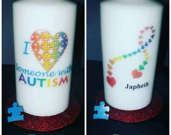 Autism Candle