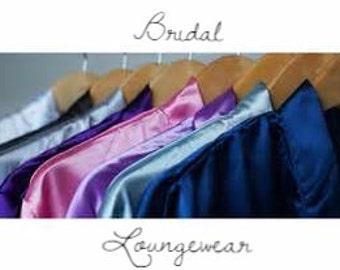 Bridal Loungewear