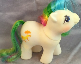 SALE Vintage My Little Pony baby first tooth Baby Quackers