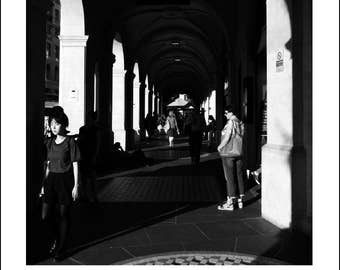 Charing Cross, Street Photography, London Art, London Print, Lost In Translation, Asian Lady, Giclee, Fine Art Photography, England Print