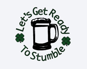St Patrick's Day Decal - Funny Irish Decal - Shamrock Decal - Irish Decal - Beer Decal - Funny Beer Decal - Decal for Dad