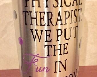 Therapist Tumbler Etsy