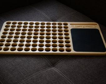Laptop Desk, round holes style