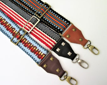 Add On Hardware:Convert  a Guitar Strap to a  Handbag Strap/Cross Body Strap/ Leather or Non-Leather Hardware