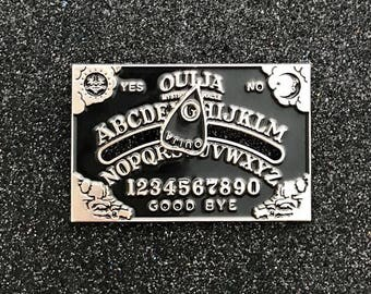 Black Ouija Pin