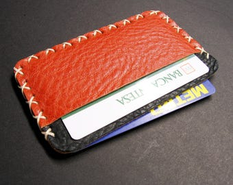 leather card holdermini walletslim leather card holder