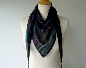 Cheche Eli graphic printed scarf