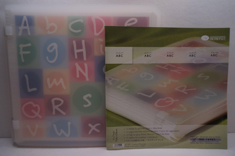 Scrapbook ideas abc album -  30 00