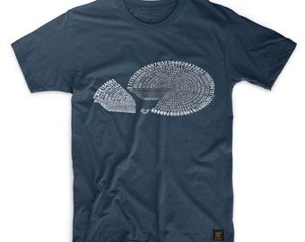 Pi Pie - Men's T shirt