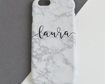 Marble phone cover - personalised phone case - personalized cell cover - phone skin - personalised cell case - iphone - samsung - marble