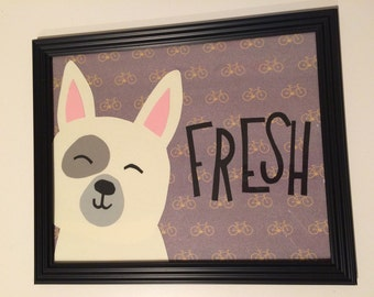 Cool Dog for Nursery Decor
