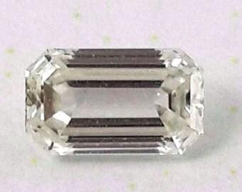 Loose natural diamond 0.36 ct emerald cut J VS certified Black Friday DEAL