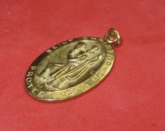 Y-62  Vintage Pendant 14 k gold filled