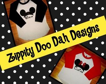 Disney Raglan Shirt