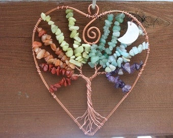 Rainbow Heart Tree of Life