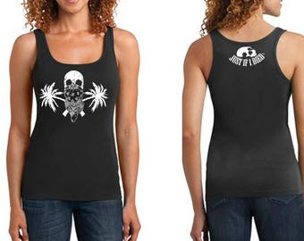 Jolly Roger ribbed tank