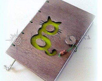 Custom wood books, with close and thick top